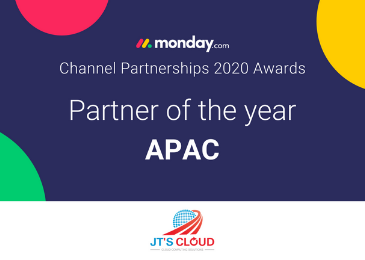 upstream awarded partner of the year by monday.com