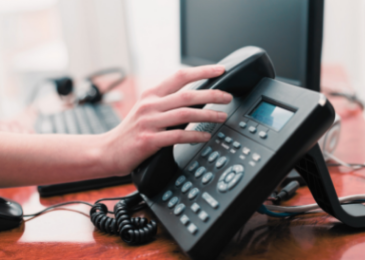 traditional office phone